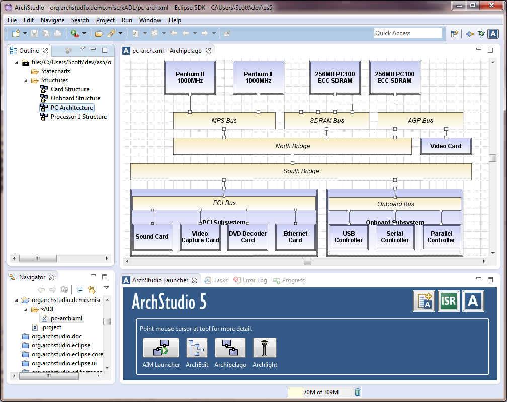 archstudio - software and systems architecture development environment