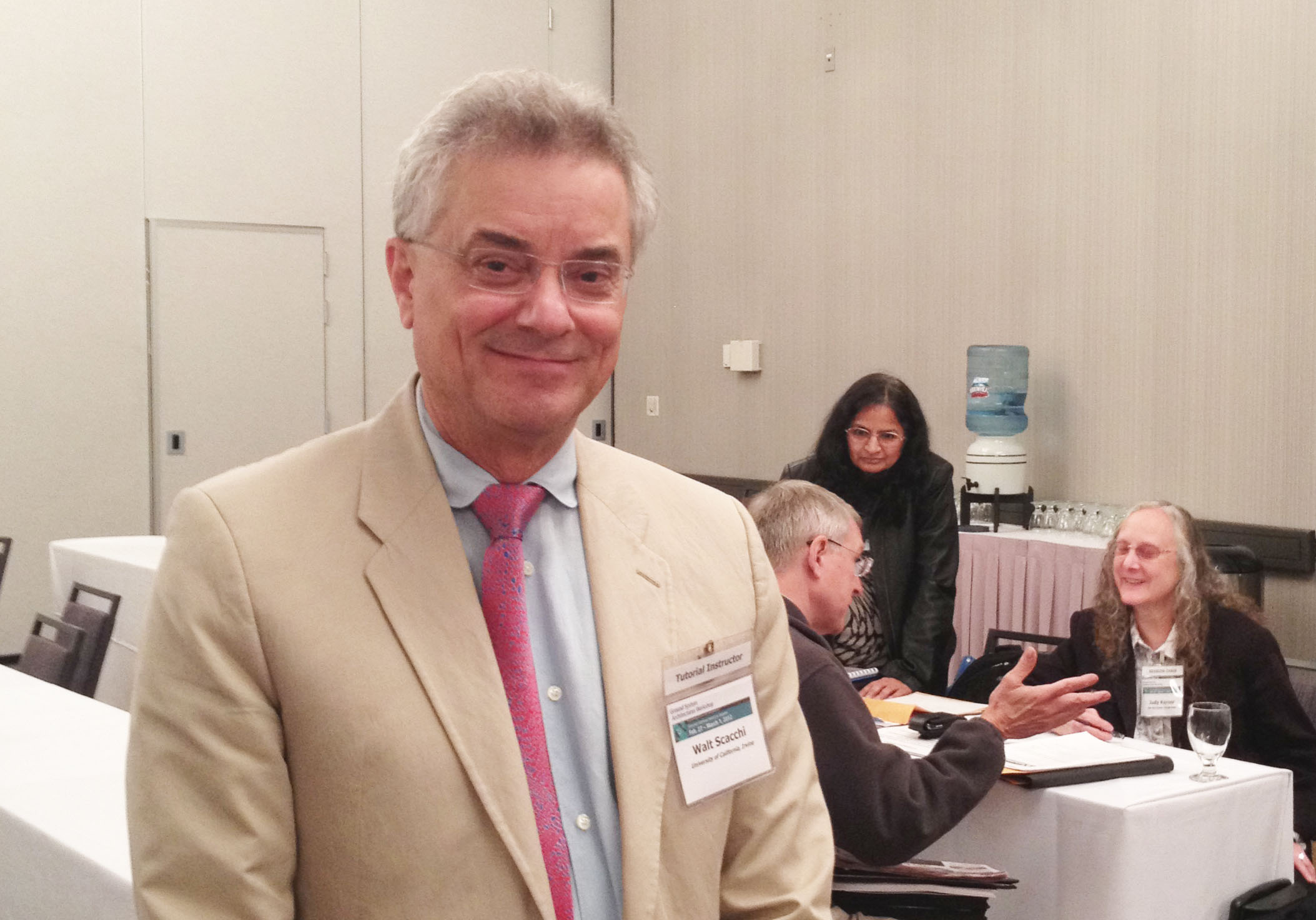 Prof. Scacchi at GSAW 2012