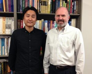 Dr. Shinobu Saito with Director Richard N. Taylor