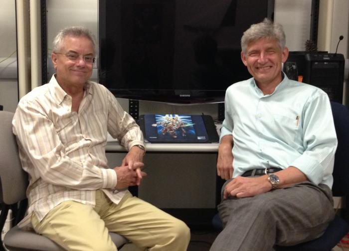 ISR Prof. Walt Scacchi hosts Visitor Prof. Christian Wagner