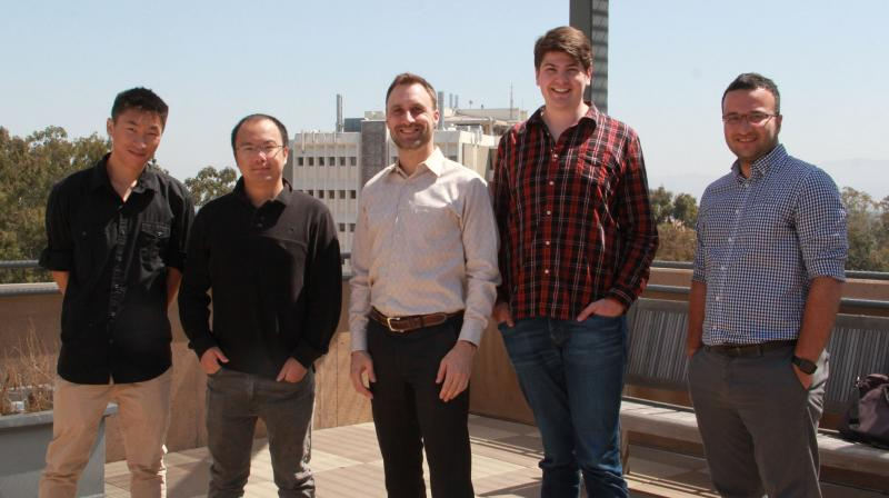 MS student Felix Lee, PhD student Yang Feng, Prof. Jim Jones, PhD student Kaj Dreef, and PhD student Armin Balalaie.